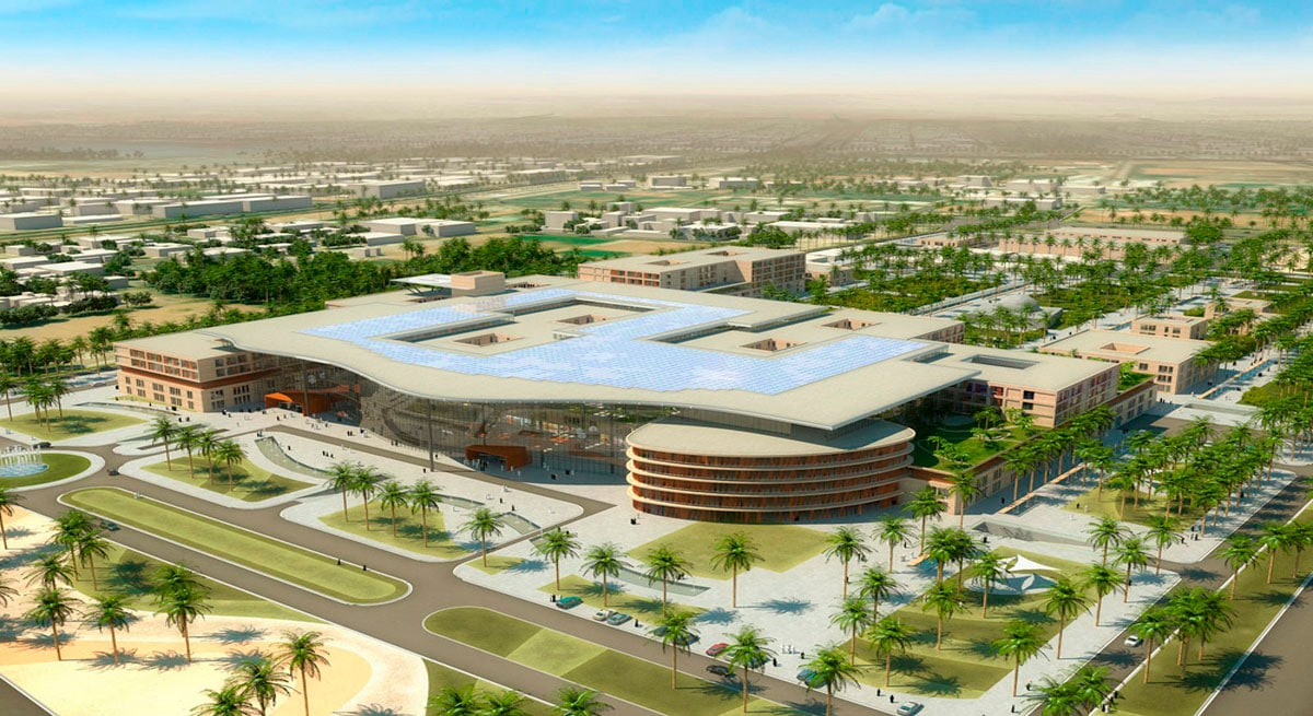 GHESA, New Al Ain Hospital, Abu Dhabi