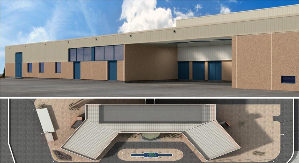 BERLIMED, Ampliación de Edificio de Almacén en Instalaciones de Berlimed