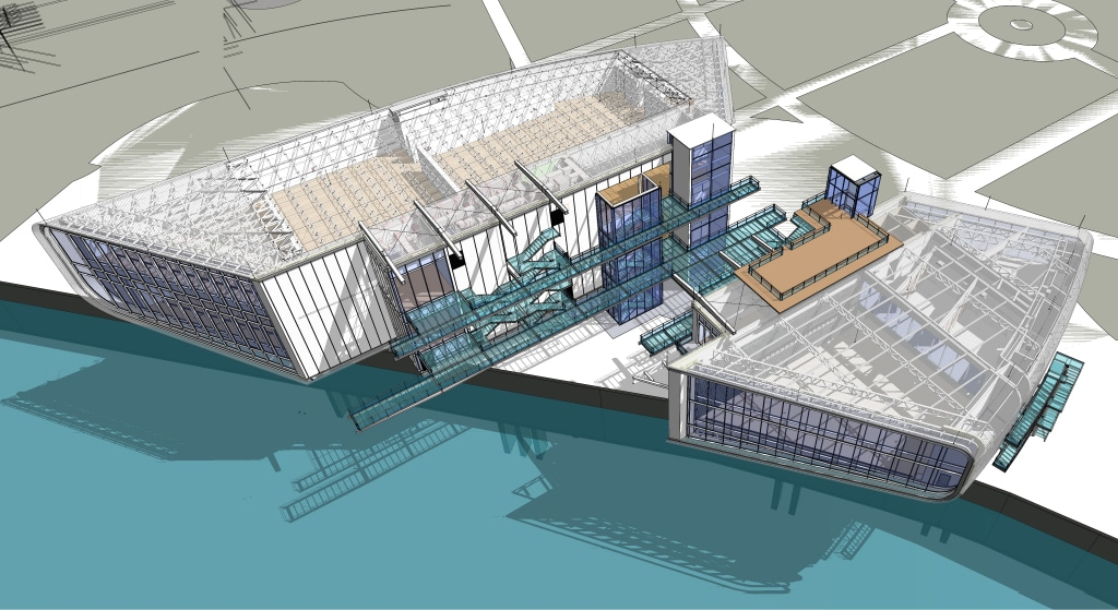 FUNDACIÓN BOTÍN, Virtual Pre-construction of Botín Art Centre