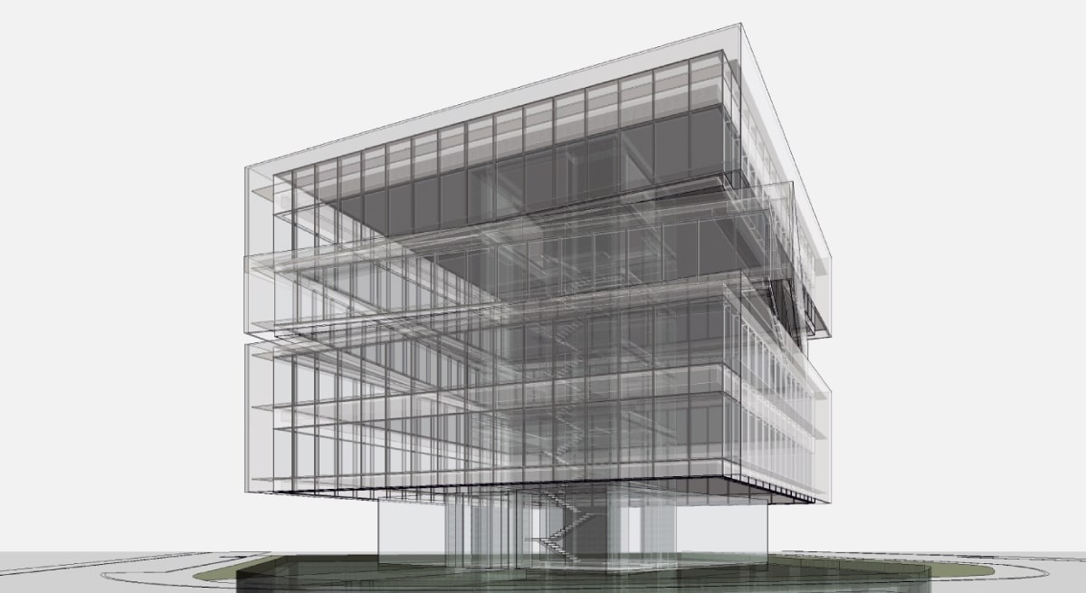 OHL, BIM MODELING FOR CISGA BUILDING