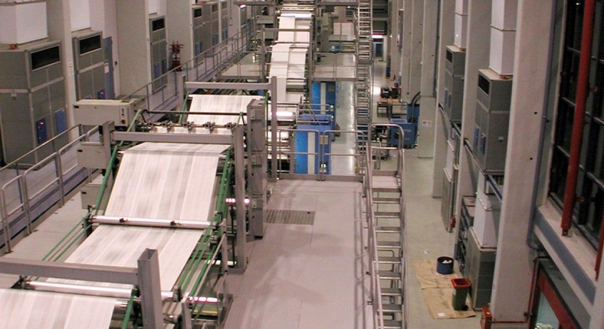 LA NACIÓN DE BUENOS AIRES, Printing Press plant