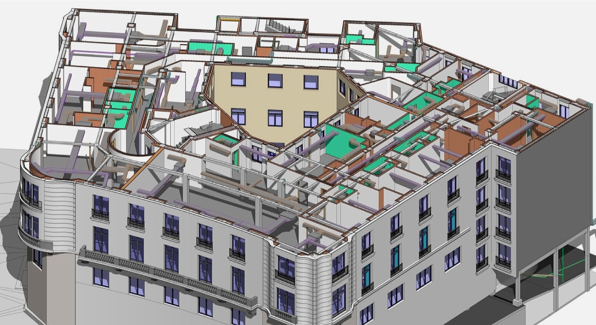 RECOORD, BIM MODELING FOR BUILDING IN PLAZA DE LA INDEPENDENCIA 5
