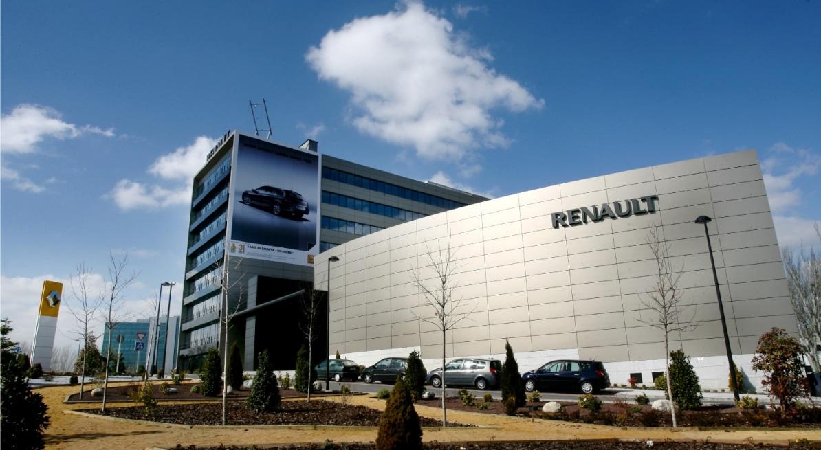 METROVACESA, Sede Social de Renault